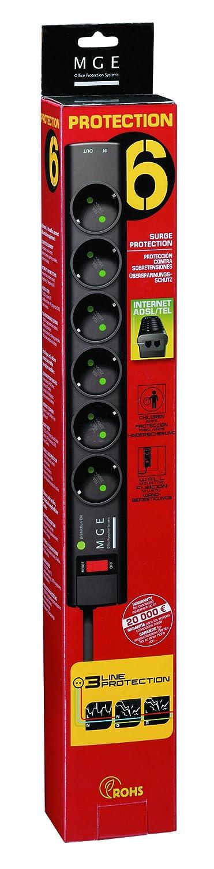 O.P.S Protection Strip Parasurtenseur 6 connecteurs de sortie MGE externe Eaton