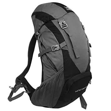ba60442e86 Karrimor Wind 35 Plus 5 Rucksacks Black Charcoal -  Amazon.co.uk  Sports    Outdoors