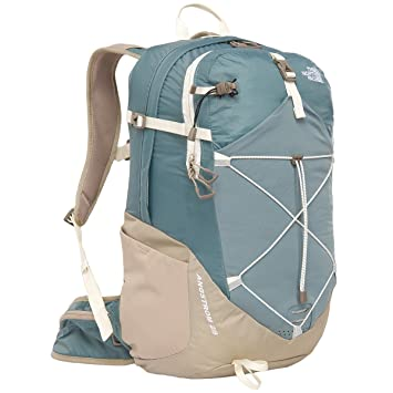 a8558f79d829 THE NORTH FACE Angstrom 28 Pack for Women - Goblin Blue Dune Beige   Amazon.co.uk  Sports   Outdoors
