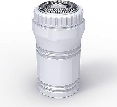 Afeitadora USB, Portátil Mini Beard Trimmer Powered Rotary Razors ...