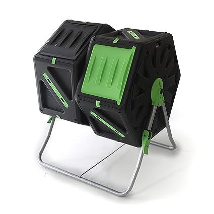 UPP Carga de compostador rollkom Póster 2 Kammern por 70L | – Compostador | Composter |