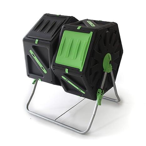 UPP Carga de compostador rollkom Póster 2 Kammern por 70L ...