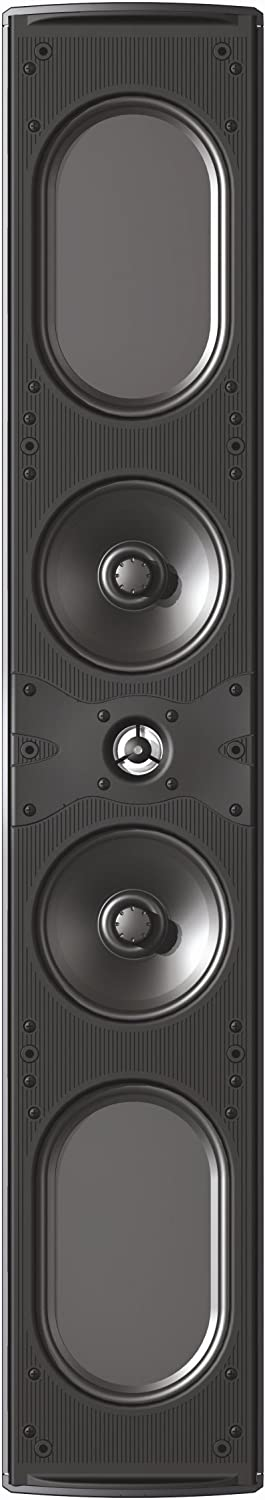 4. Definitive Technology Mythos 10 Main & Center Channel (L/C/R) in Wall Speakers