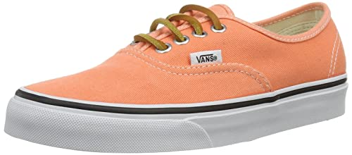 f4bbab3283 Vans Unisex Authentic  (Brushed Twill) Fresh Salmon Mens 11.5 ...