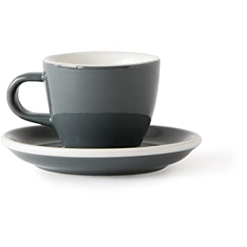 Acme Evolution Demitasse Cup and Saucer Grey: Amazon ca
