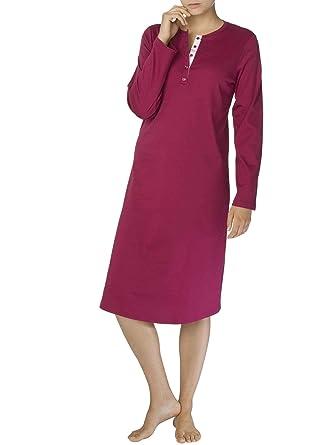 scarpe sportive 33665 019bb Calida - Camicia da notte - Basic - Donna Red Plum Large ...