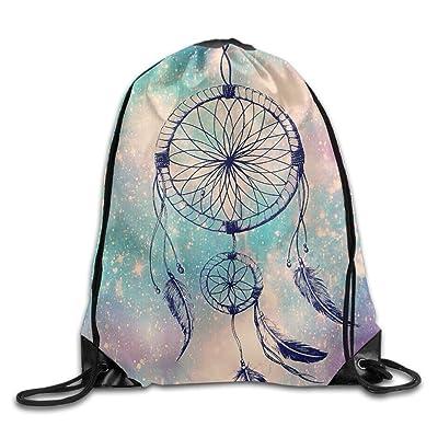 Jimres Dream Catcher Drawstring Bags Portable Backpack Pocket Bag Travel Sport Gym Bag Yoga Runner Daypack 50%OFF