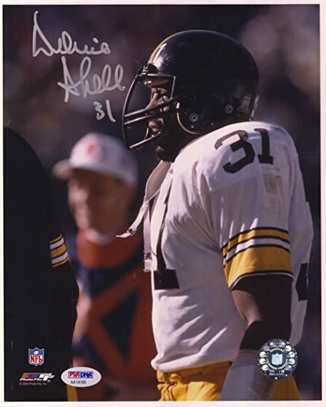 a283b6fc89c Donnie Shell Autographed Pittsburgh Steelers 8x10 Photo - PSA DNA ...