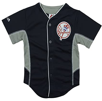sports shoes 2e133 e928b Majestic New York Yankees MLB Big Boys Team Leader Jersey - Navy Blue