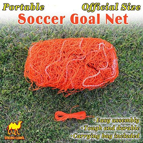 Strong Camel New Portable 12' x 7' Official Size Soccer goal Net Outdoor Football Training - Fifa Goal Soccer