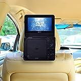 TFY Supporto Auto Poggiatesta Lettore DVD Portatile 7 Pollici (per Sony DVP-FX750, Sony DVP-FX780 e altri Modelli)