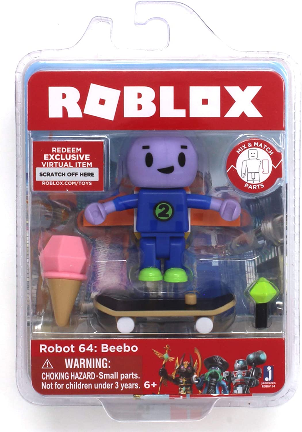 DuelDroid 5000 with Virtual Game Code /& Accessories Roblox Toys Action Figures