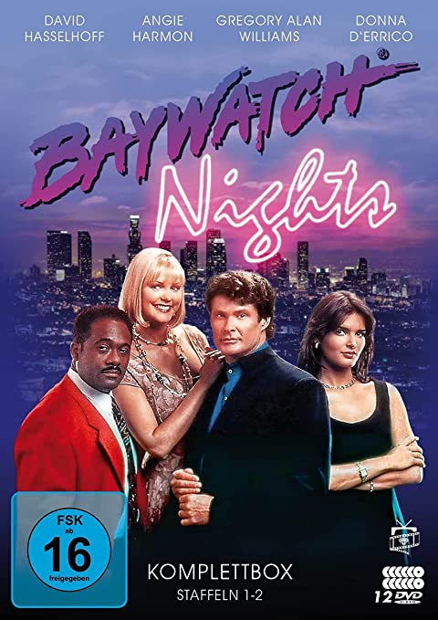 Baywatch Nights Die Komplett Box 12 Dvds Amazon De David Hasselhoff Angie Harmon Donna D Errico Gregory Alan Williams David Hasselhoff Angie Harmon Dvd Blu Ray