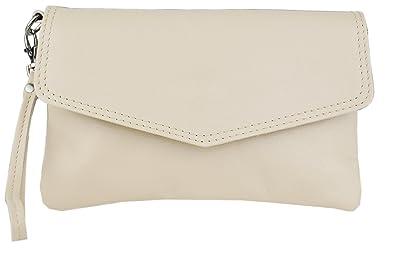 Damen Cameron Clutch, Braun (Dunkelbraun), 3x13x21 cm Bags4less