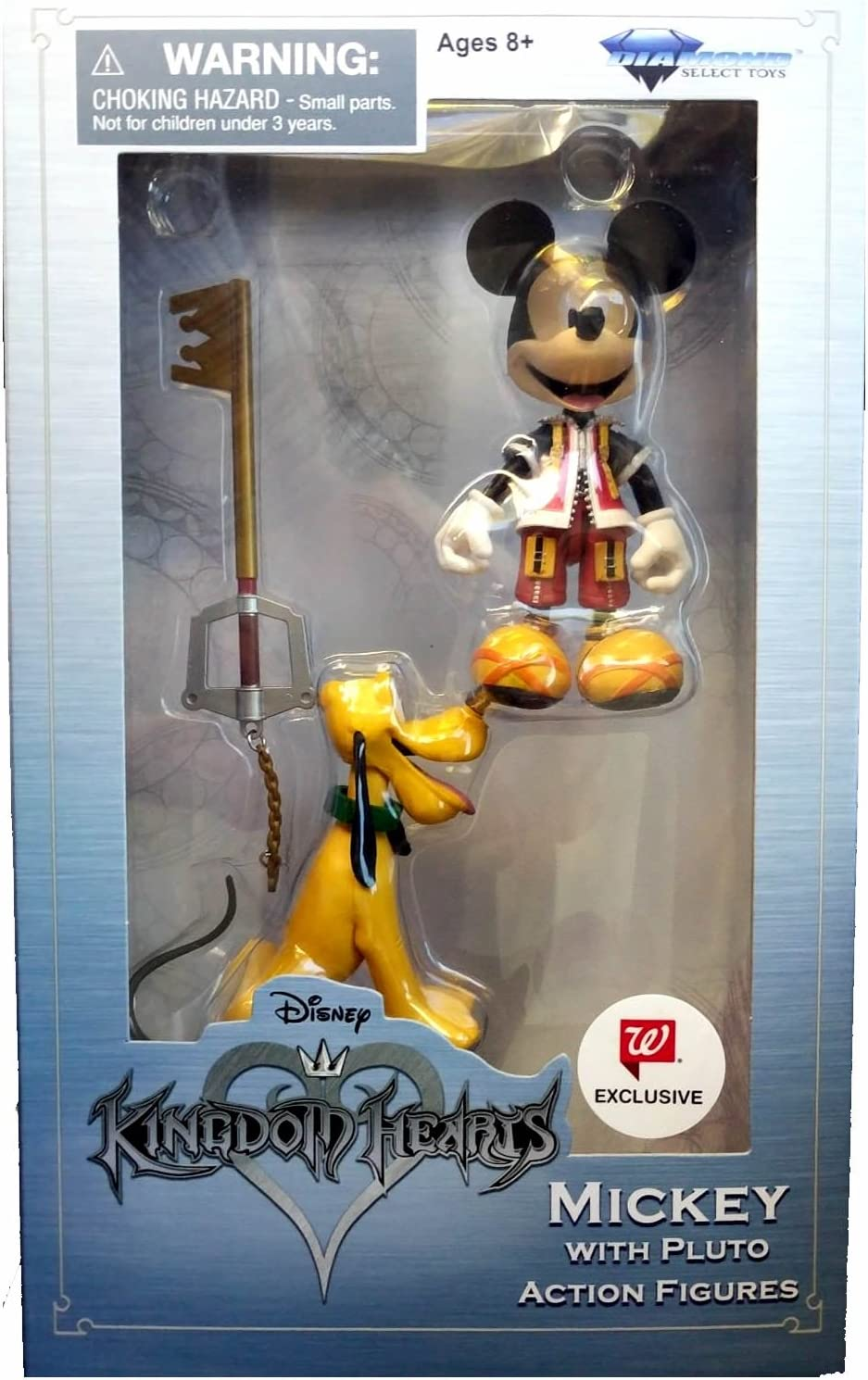 Diamond Kingdom Hearts Select Toys Disney Mickey Mouse Action Figure