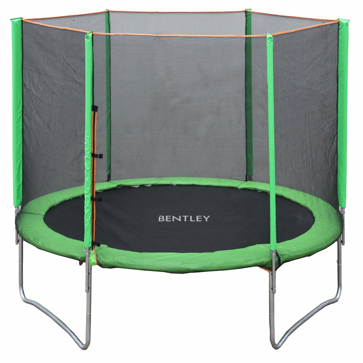 Bentley Kids - Kinder Outdoor-Trampolin mit Sicherheitsnetz - Ø 3 m