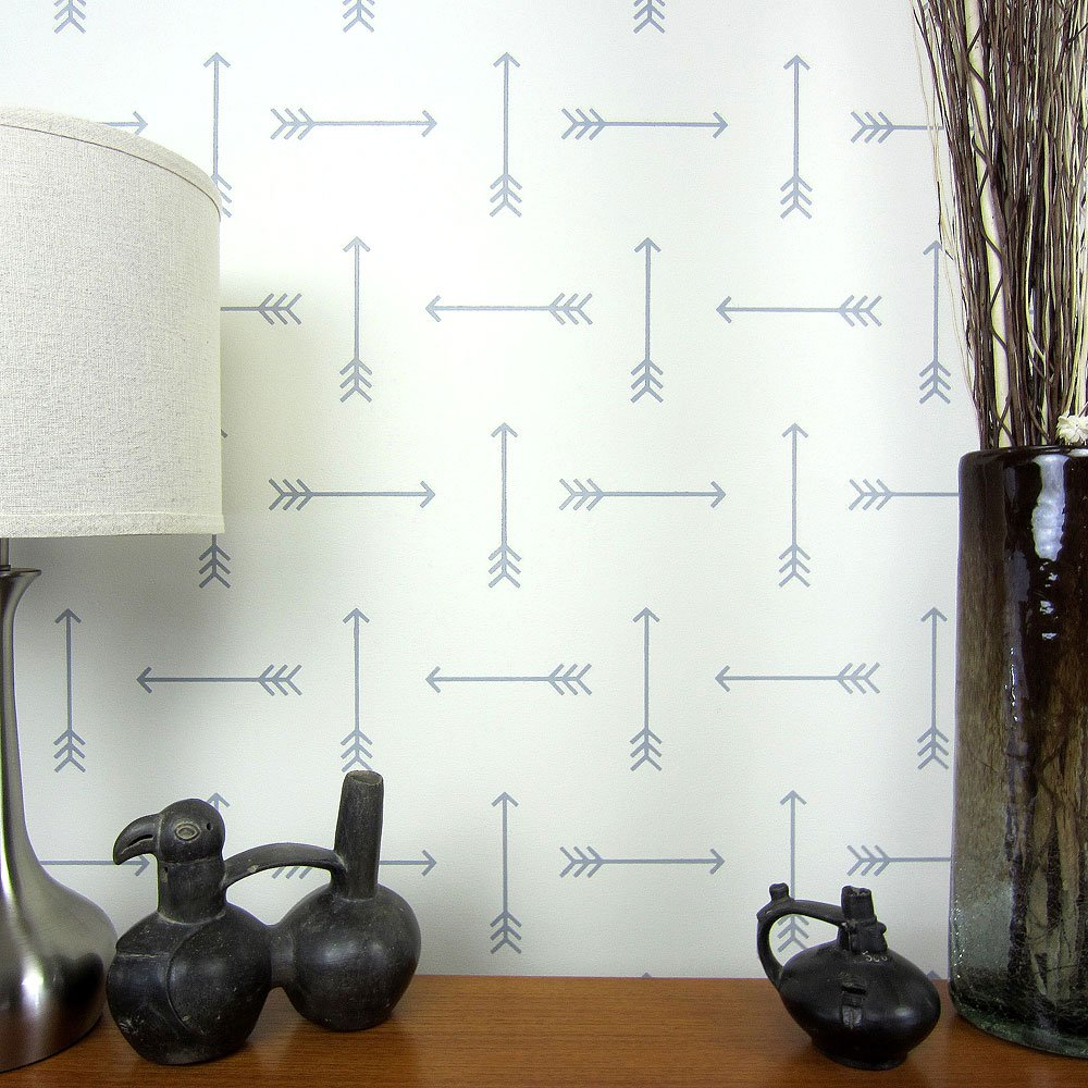Tribal Arrows Allover Wall Pattern Stencil Large Reusable Wall