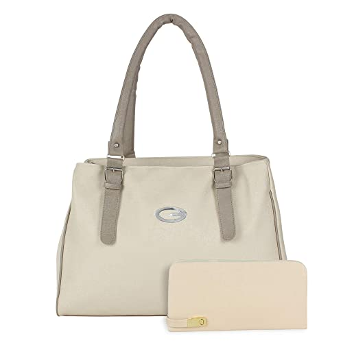 271640d0a9e2 Bags Villa PU Leather Handbag and Wallet Clutch Combo for Women and ...