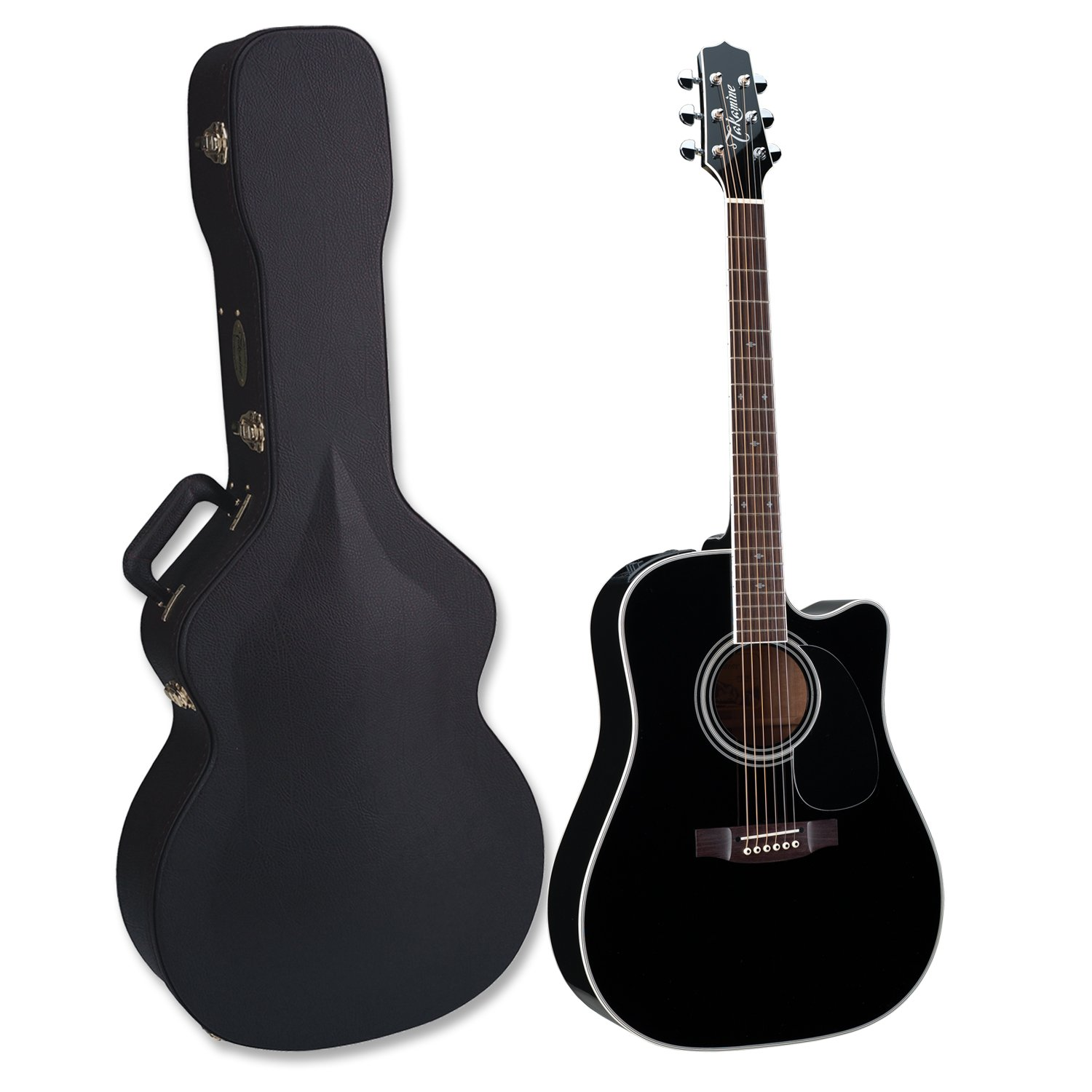 takamine ef341sc pro series dreadnought acoustic electric guitar black with case guitar affinity. Black Bedroom Furniture Sets. Home Design Ideas