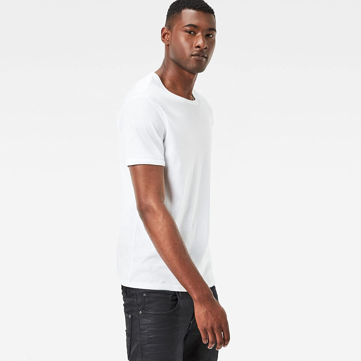 G-STAR RAW Base R T S//S 2-Pack Camiseta para Hombre