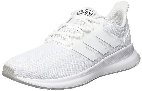 super popular a27f7 03883 adidas Runfalcon K, Scarpe da Running Unisex Bambini, Bianco Ftwr  WhiteGrey Two