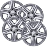 16 inch Hubcaps Best for 2006-2013 Chevrolet Impala - (Set of 4) Wheel Covers 16in Hub Caps Chrome Rim Cover - Car…