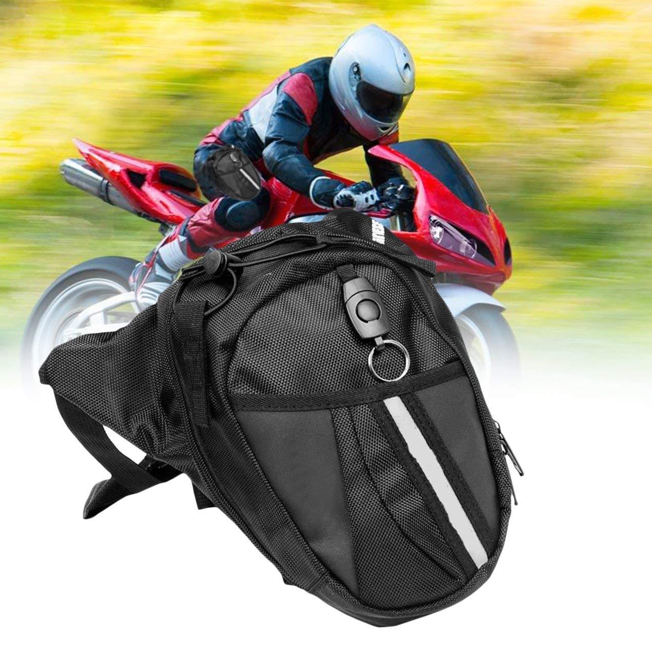 Multifonctions Voyage pour Le Camping de Cyclisme imperm/éable pour Moto Fanny Lot Dooret Sac de Jambe en Nylon