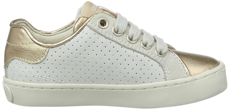 Geox J Kiwi G Girls Leather Sneakers//Shoes J72D5B05422C0232