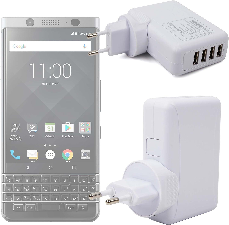 DURAGADGET Cargador De Viaje para Smartphone Blackberry Mercury ...