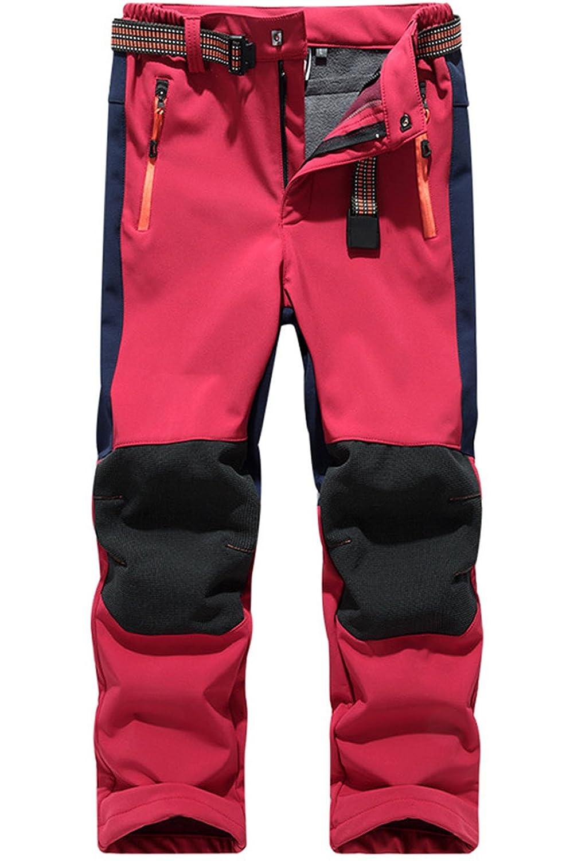 Pantalon Impermeable Trekking Niñ o Softshell Pantalones de Montañ a Deporte al aire libre Pantalones Senderis Niñ a Pantalones de Escalada Eniko