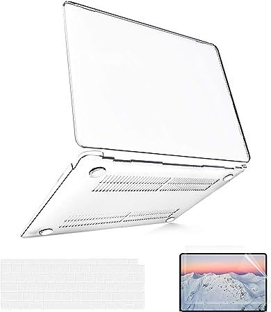 Protectora R/ígida Carcasa y Cubierta del Teclado para MacBook Air 13 Pulgadas A2337 // A2179// A1932 Verde Claro iNeseon Funda para 2020//2019//2018 MacBook Air 13 M1