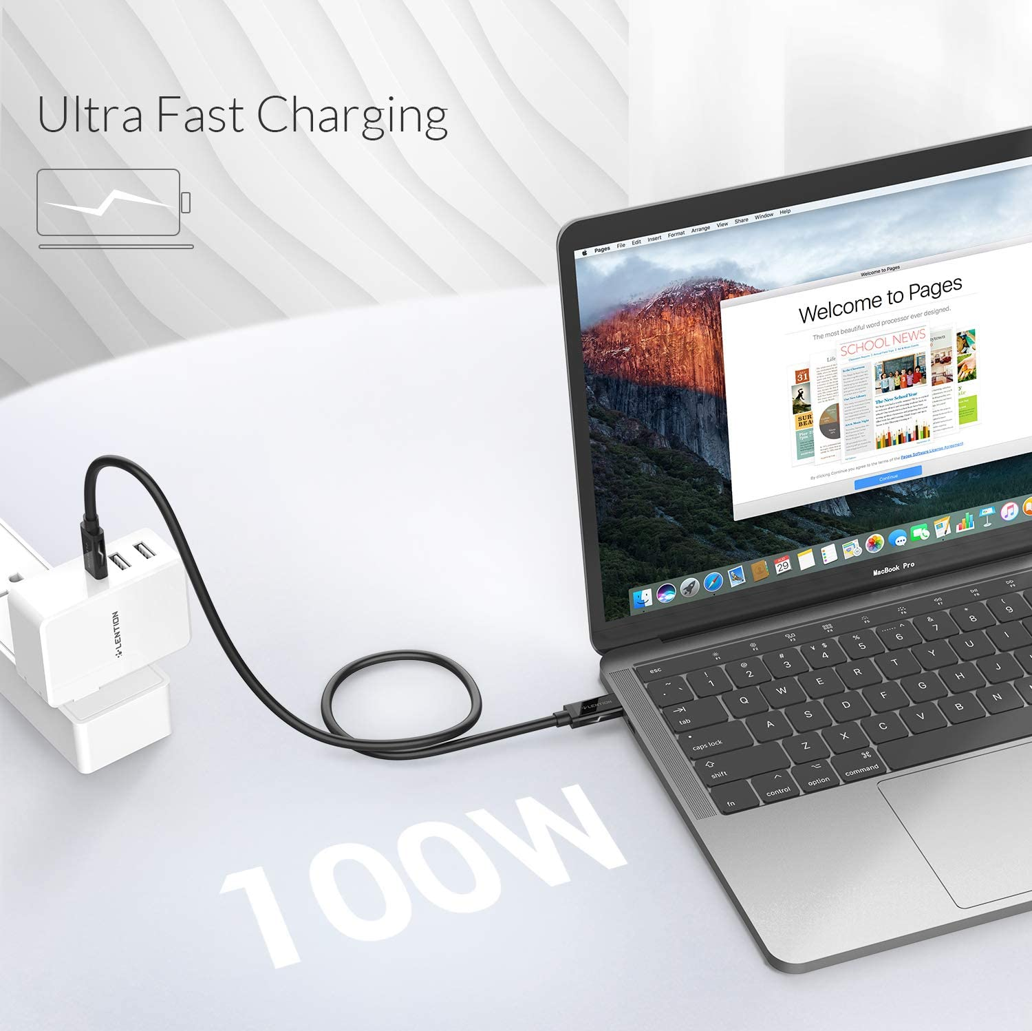 Black LENTION USB-C to USB-C 3.1 Gen 2 Cable More Type-C Devices iPad Pro 2018 2019 3ft with 4K//60Hz Video /& 100W Power Delivery Compatible MacBook Air//Pro Surface Book 2//Go Thunderbolt 3