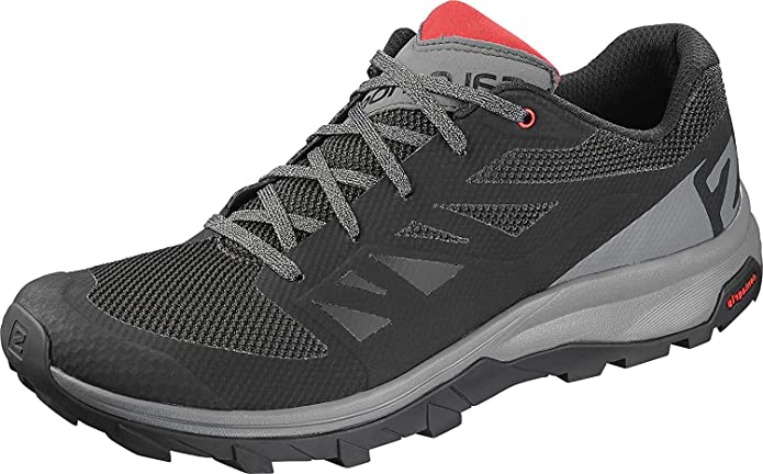 SALOMON Shoes Outline BKQuiet ShadHigh Risk, Basket Homme