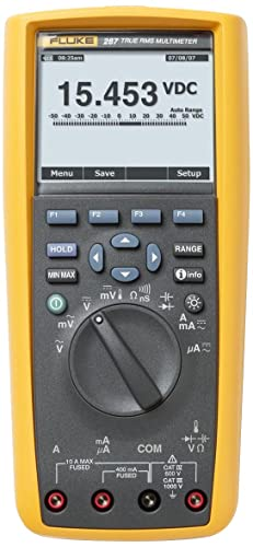 Best Multimeter For Electronics: Fluke 287 Multimeter Review