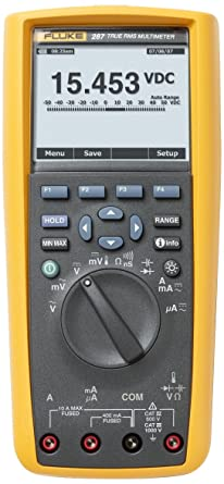 Review Fluke 287 True-RMS Stand