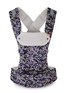 Beco Gemini Baby Carrier - Midnight Meadow, Sleek and Simple 5-in-1 All Position Backpack Style Sling for Holding Babies, Infants and Child from 7-35 lbs Certified Ergonomic