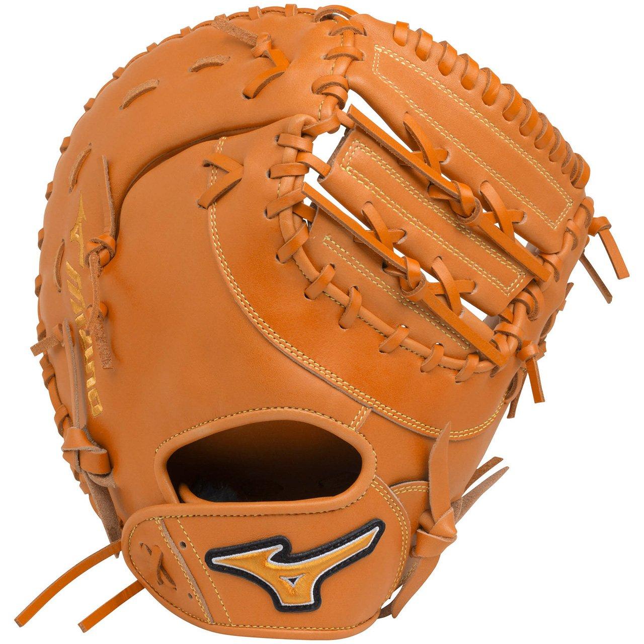 ミズノ(MIZUNO) ソフトボール用 エレメントフュージョンUMiX 捕手一塁手兼用(コンパクトタイプ) 1AJCS18420 B079TLJ3PD 右投用|クリアオレンジ(51) クリアオレンジ(51) 右投用