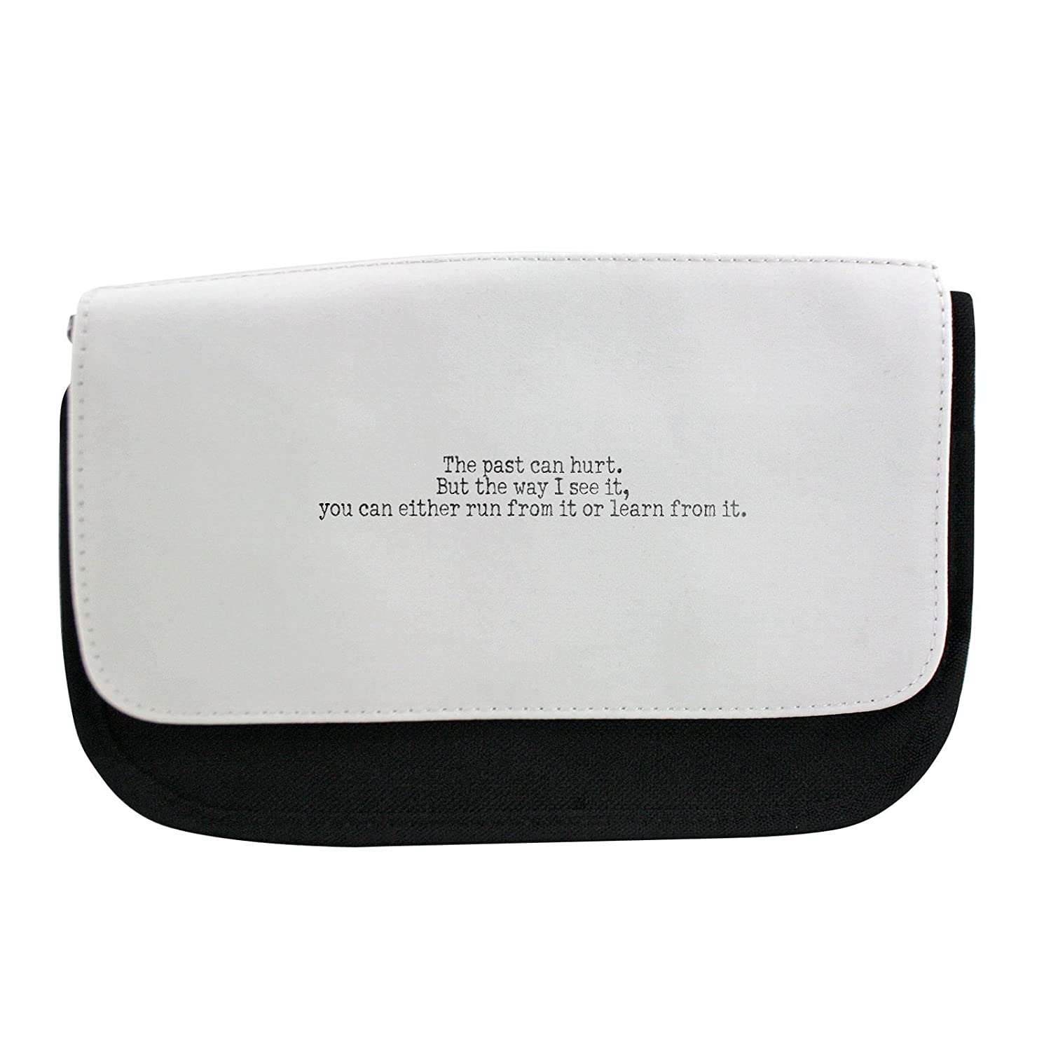 The Past Can Way Hurt. BUT The Way Can I See it, you can either Run from it or Learn From it. Pencil Case, de Make Up Bag, Multibag 0c9a9e