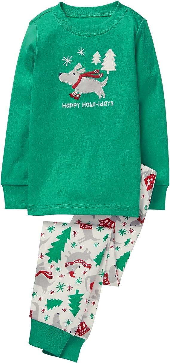 Gymboree Christmas Pajamas 2021 Amazon Com Gymboree Boys Little 2 Piece Cotton Tight Fit Pajamas Dog 4 Clothing