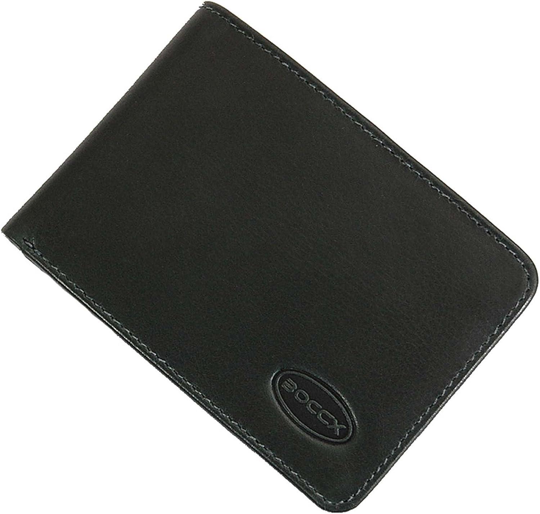 BOCCX-10020 tipo cartera de hombre piel de vaqueta, verde (Verde) - 10020