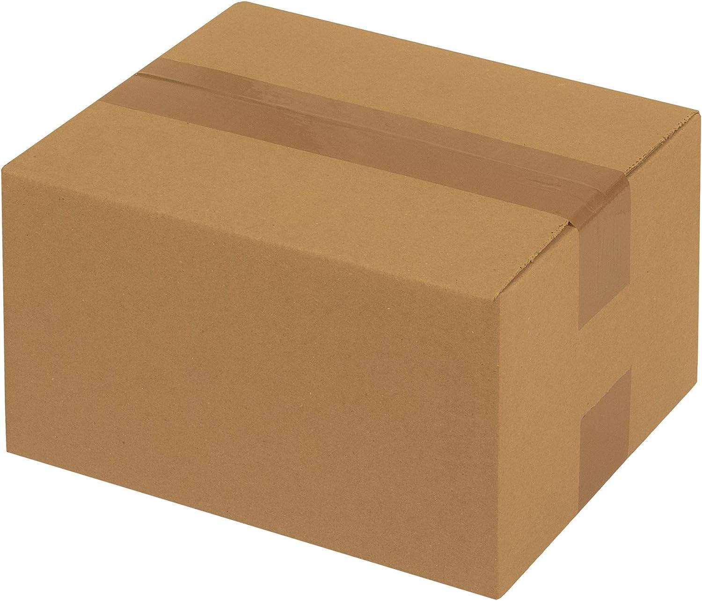 50x Faltkartons Verpackungen Schachtel Kisten 1-wellig 250 x 200 x 140 mm