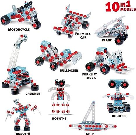 Pup Go Kids Robotic Blocks Kits 286 teiliges BAU BAU