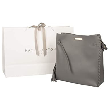 f0012931a264 Amazon.com: Katie Loxton - Florrie Day Bag - Charcoal: Clothing