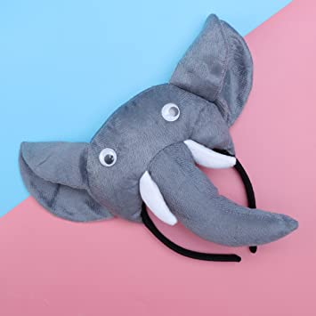 PRETYZOOM 3pcs Disfraz de Elefante para Niños Conjunto de Diadema ...