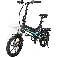 HITWAY Bicicletas eléctricas, Aleación de magnesio Bicicleta Plegable de 16 Pulgadas,…