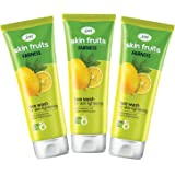 Joy Skin Fruits Fairness Face Wash (Lemon) Pack of 3