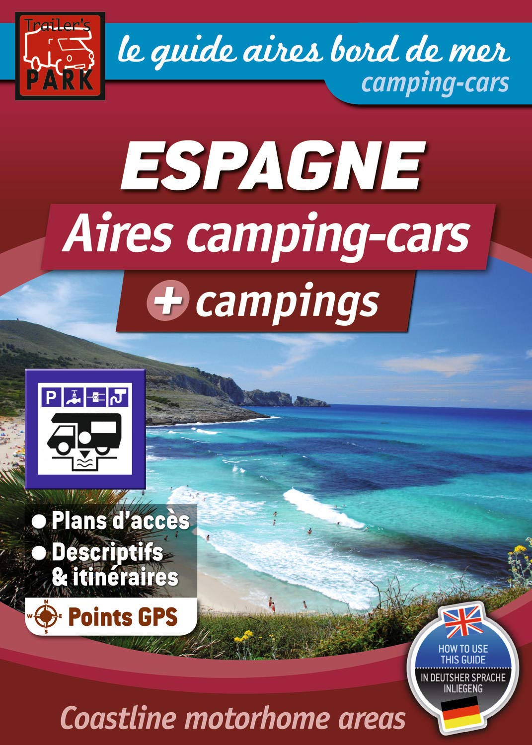 carte aires camping car espagne Amazon.fr   Guide des aires Camping Car Espagne   Michelin   Livres