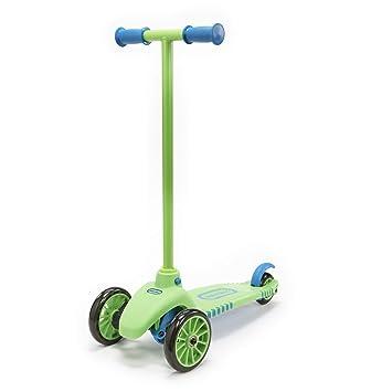 Amazon.com: Patinete Lean To Turn de Little Tikes, verde ...