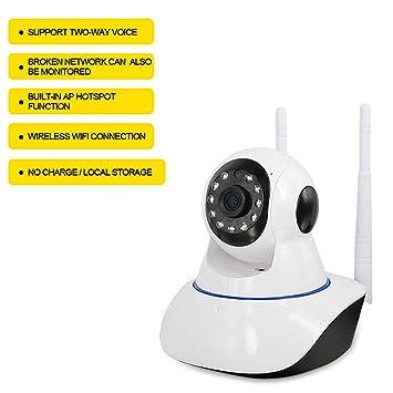 Cámara De Vigilancia Sin Cables - Caméra De Seguridad Con Wifi Coche - Cámara De Vigilancia
