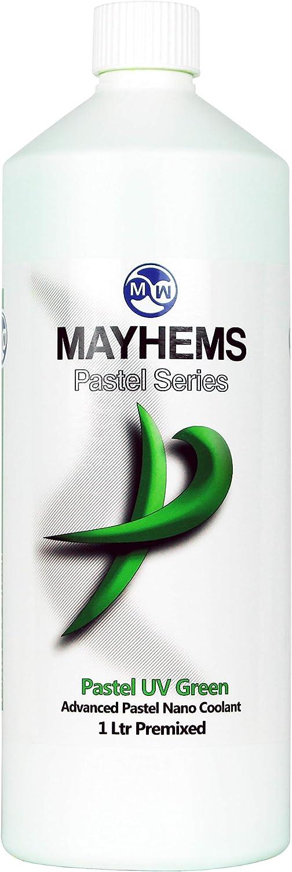 Mayhems Pastel Nano Coolant Premix, 1000mL, Pastel UV Green